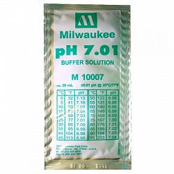 pH 7.01 Calibration Buffer Solution (box of 25x20 ml sachet) Milwaukee