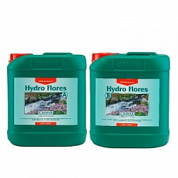 CANNA Hydro Flores A+B, 5 L (hard water)