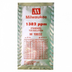 1382 ppm TDS Calibration Solution (box of 25x20 ml sachet) Milwaukee
